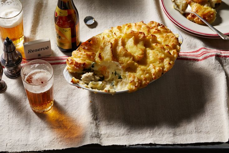 Gabriel Gaté's fisherman's #pie. This version features smoked haddock and, like all good fish pies, is topped with creamy mash. Watch the video recipe.