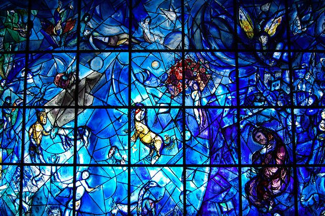 Marc chagall stained glass art pinterest glasses for Chagall mural chicago