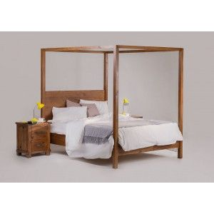 Manor Canopy Bed - King Extra Length