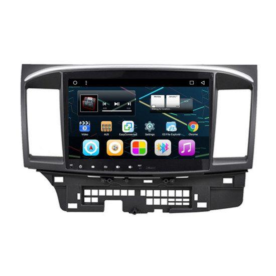 "10.2"" Android Autoradio Car Multimedia GPS Navigation DVD Radio Audio Head Unit for Mitsubishi Lancer 2012 2013 2014 2015"