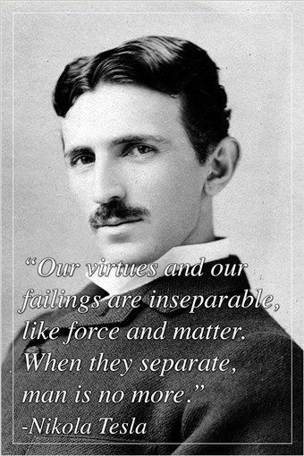 INSPIRING quote poster NIKOLA TESLA inventor electrical engineer 24X36 BOLD Brand New. 24x36 inches. Will ship in a tube. - Multiple item purchases are combined the next day and get a discount for dom