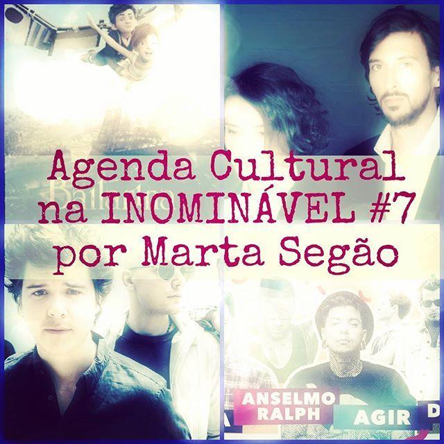 O que ver e fazer em Abril e Maio, na Agenda Cultural da #revistainominavel  no. 7. https://www.joomag.com/magazine/inominável-ano-2-inominável-nº7/0315087001486647919 #revistadigital #revistaonline  #revista #revistaportuguesa #portuguesemagazine #portugal #agendacultural #bookstagram #instadaily [link in bio]
