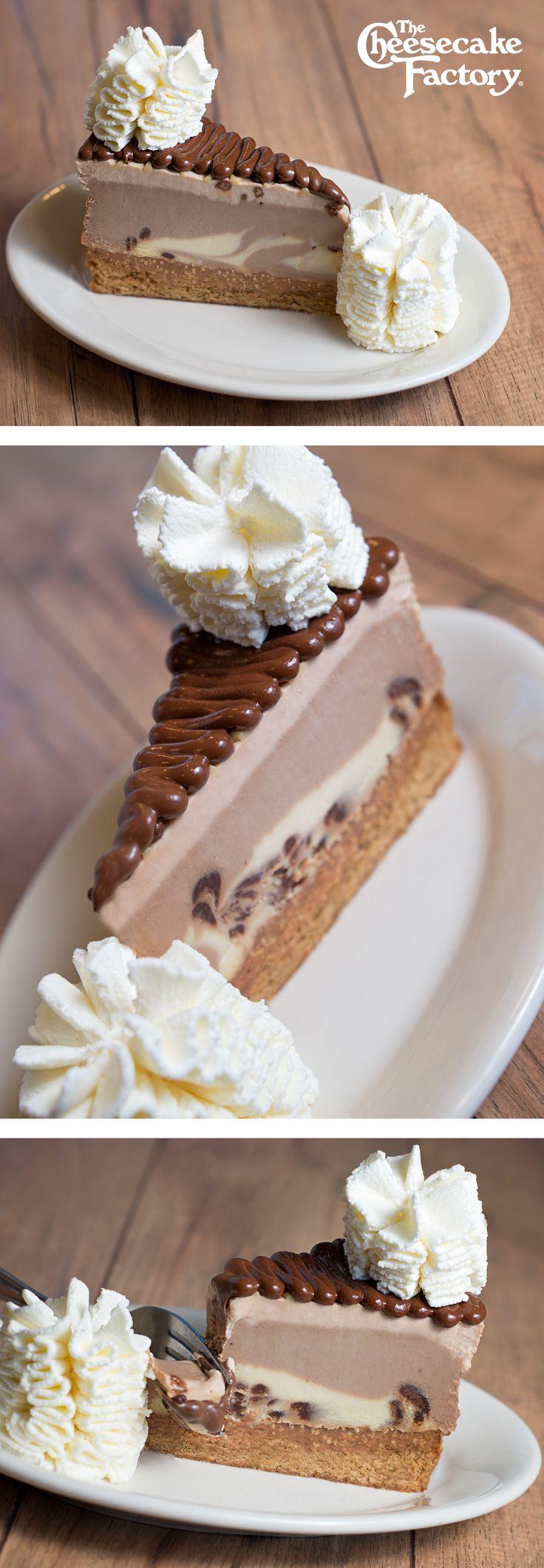 Chocolate Hazelnut Cheesecake Topped with Hazelnut Crunch and Nutella®