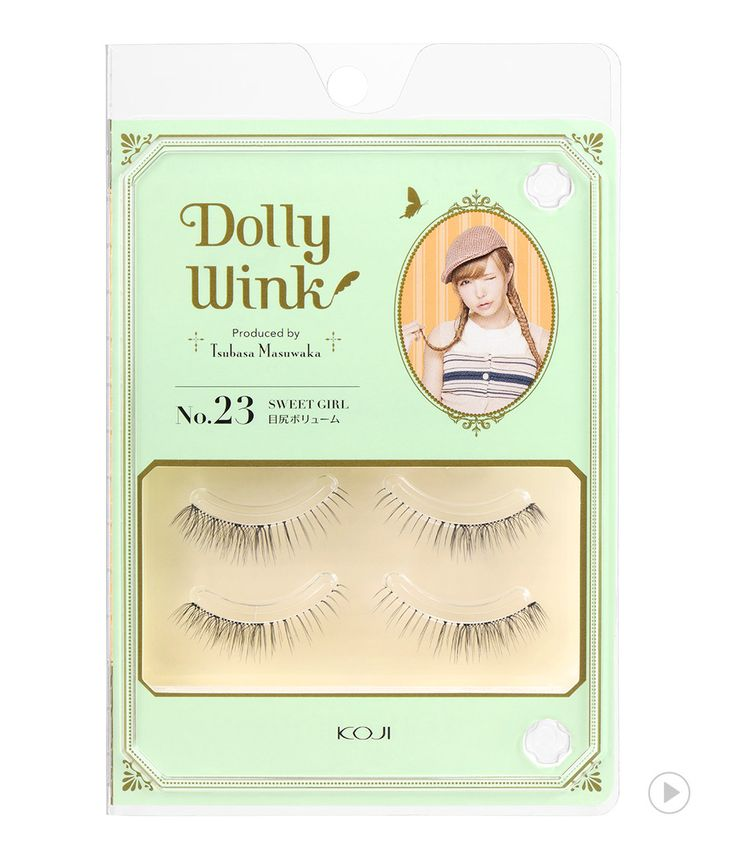 Dolly Wink Eyelash No.23 Sweet Girl