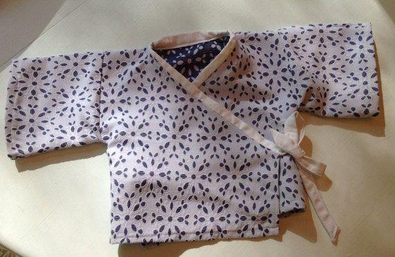 Ready to ship, Baby Kimono, 0-3 months baby kimono