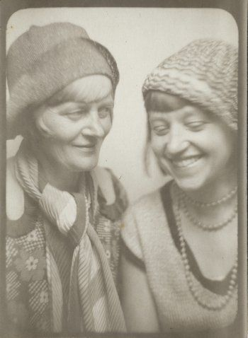Emmy Hennings with Annemarie, 1920-1929