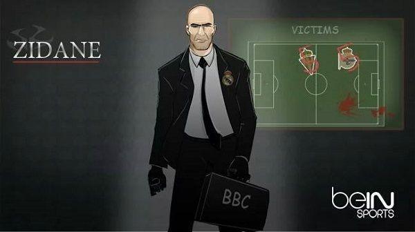 Zinedine Zidane już zabił dwie ofiary w La Liga • Zawodowy morderca pojawił się w Realu Madryt • Zidane jako hitman • Zobacz więcej >> #zidane #football #soccer #sports #pilkanozna
