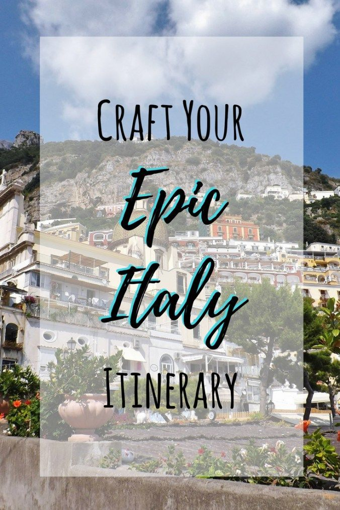 Learn how to plan an epic trip to Italy | Things to do in Rome | Things to do in Florence | Things to do in Venice | Things to do in Naples | Things to do in Milan | Things to do on the Amalfi Coast | How to get around Italy | Budget for vacation in Italy
