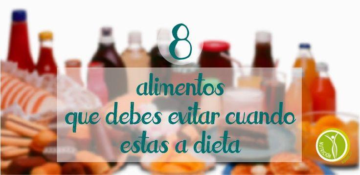 Nutricion Estetica: 8 Alimentos que debes evitar cuando estas a dieta....