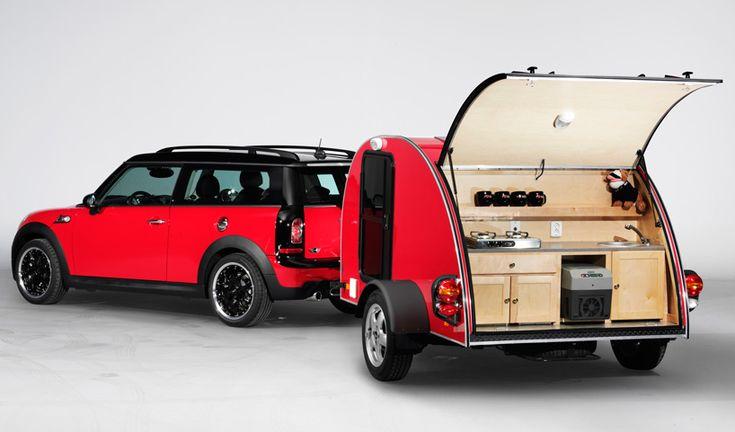 MINI camper + caravan.