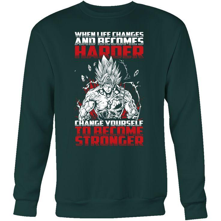Super Saiyan Bardock become stronger Sweatshirt Shirt - TL00474SW