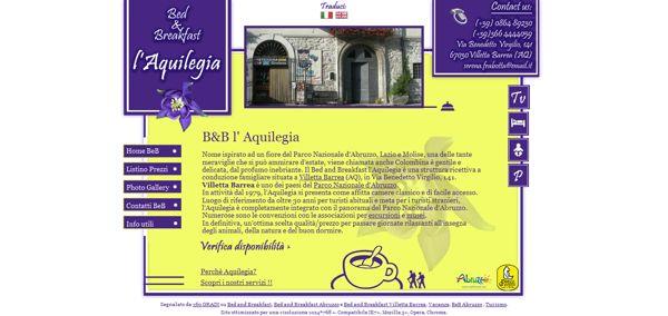 l'Aquilegia Bed and Breakfast Parco Nazionale d'Abruzzo by Elio Tornincasa, via Behance