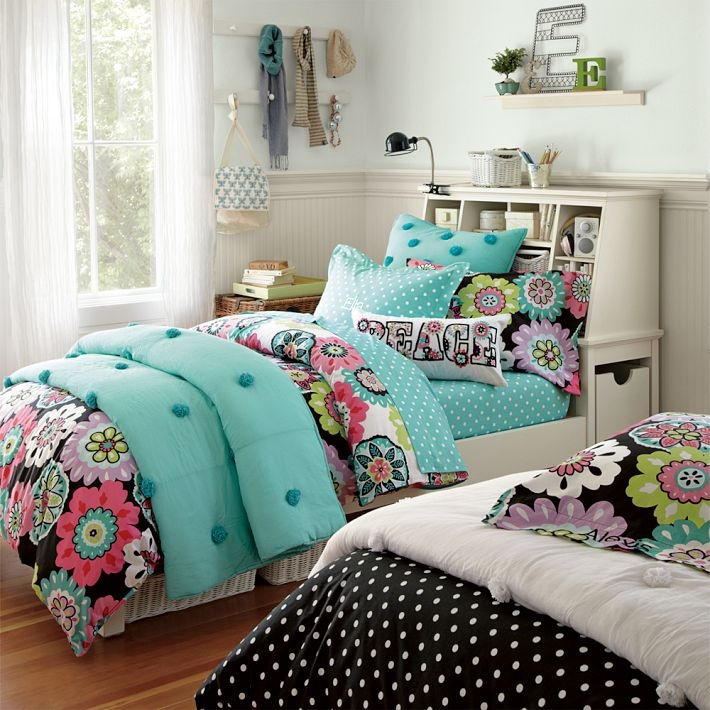 Camilla Floral Bed Sheet For Teen Girls Bedroom