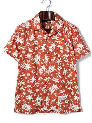VAROSH - tropical print short-sleeved Hawaiian shirt