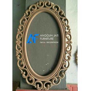 Pigura Ukir Jati Jepara | Harga Cermin Jati Ukir