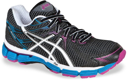 Products I love: GT-2000™ @ ASICSAmerica. Each to their own with running shoes but these work for me-I tried New Balance, then Nike and have now bought two pairs in a row of the Asics. Very happy with them. I wear a US 9, Euro 40.5 size (bigger than my usual size 39) as your feet expand hugely when running over 10km distances.