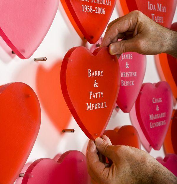 Bethesda Heart Hospital Donor Recognition Wall by Randy Burman, via Behance