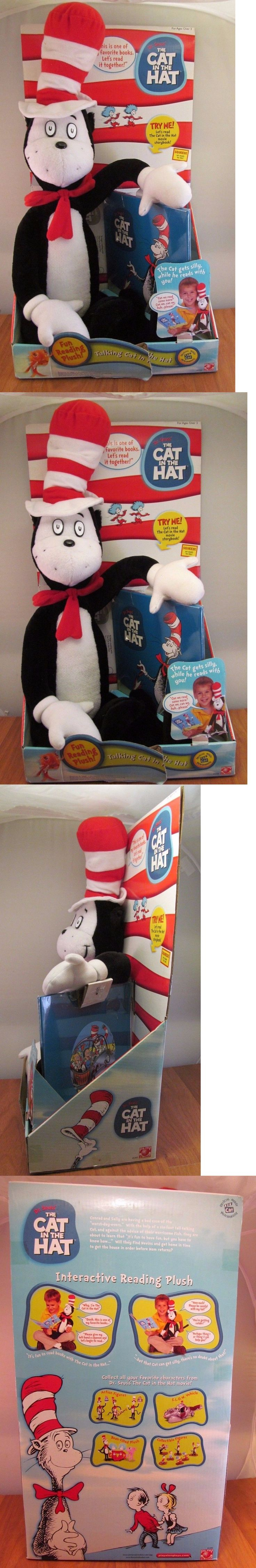 Dr Seuss 20906: Dr Seuss Cat In The Hat Plush Talking Cat Reads Whole Book Rare Htf Nip -> BUY IT NOW ONLY: $109.49 on eBay!