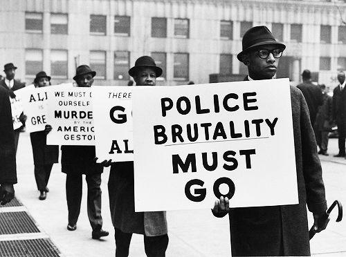 blackartdepot:   Gordon Parks - Black Muslim Protest, 1963 (via)  And it still must go….