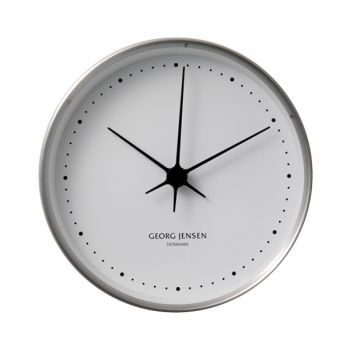 HK Clock stainless steel, small