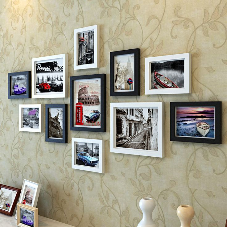 Find More Frame Information about Solid Wood Photo Frame Wall Photo Moldura Picture Marcos De Fotos 11pcs/set Modern Quadro Foto Frames with Picture,High Quality framed art set of 3,China frame computer Suppliers, Cheap frames large from Handicraftsman on Aliexpress.com