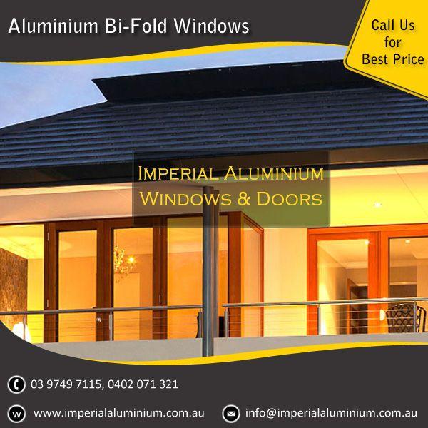 Imperial Aluminium Bi-Fold Window