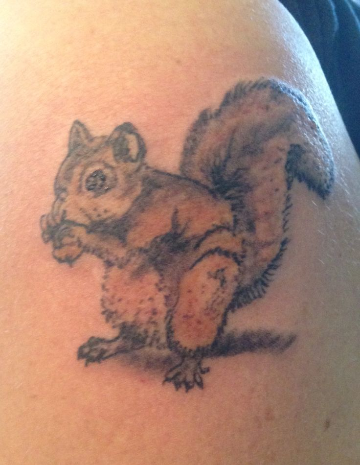 Nickname is .....wait for it.... Squirrel.