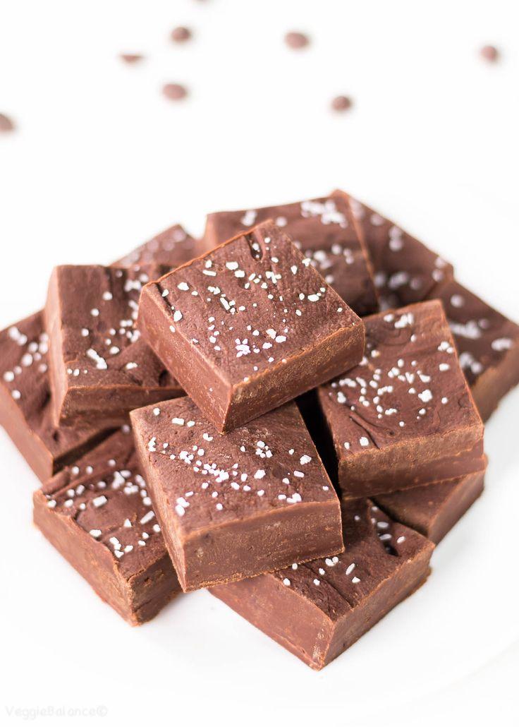 Easy Chocolate Fudge Gluten Free Chocolate Fudge Vegan Chocolate Fudge