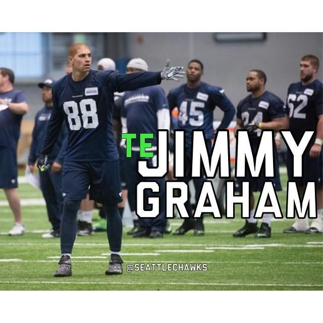 At http://ift.tt/1QeU9kp -- Seattle Seahawks OTA are over. And TE Jimmy Graham had a nice day with at least 5 T…