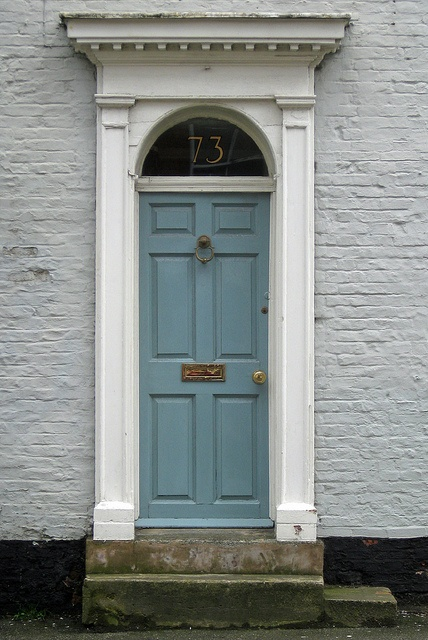 Georgian Doors of Barton - Grey by D H Wright via Flickr & The 69 best The Grand Georgian - Front Door (ideas) images on ...