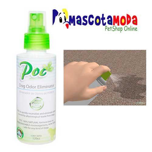 Eliminador de olores POC para mascotas