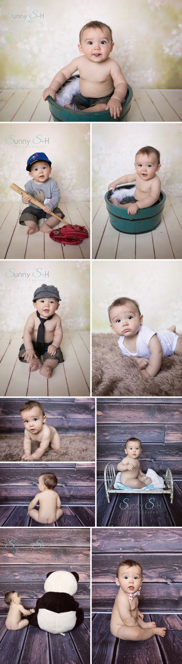 "I love the 6-7 month ""sitting stage"" so much for babies.  One of my favorites to photograph."