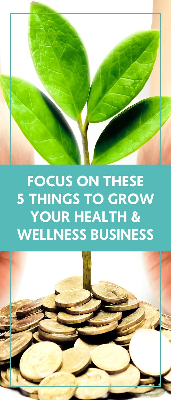 Focus On These 5 Things To Grow Your Health & Wellness Business - The Wellness Business Hub