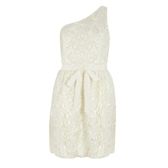 Jill Stuart Ivory Occasion Dress From TK Maxx GBP3499 High Street Wedding DressesWedding