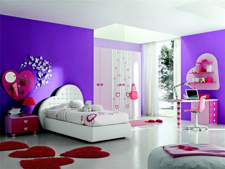 Les 25 meilleures idées de la catégorie Chambres violet foncé sur ...