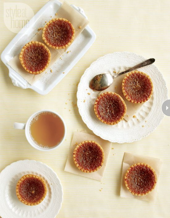 Quintessentially Canadian and sinfully sweet, these gooey butter tarts are impossible to resist.