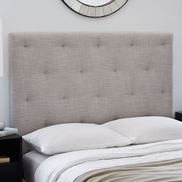 Diamond Tufted Headboard #westelm