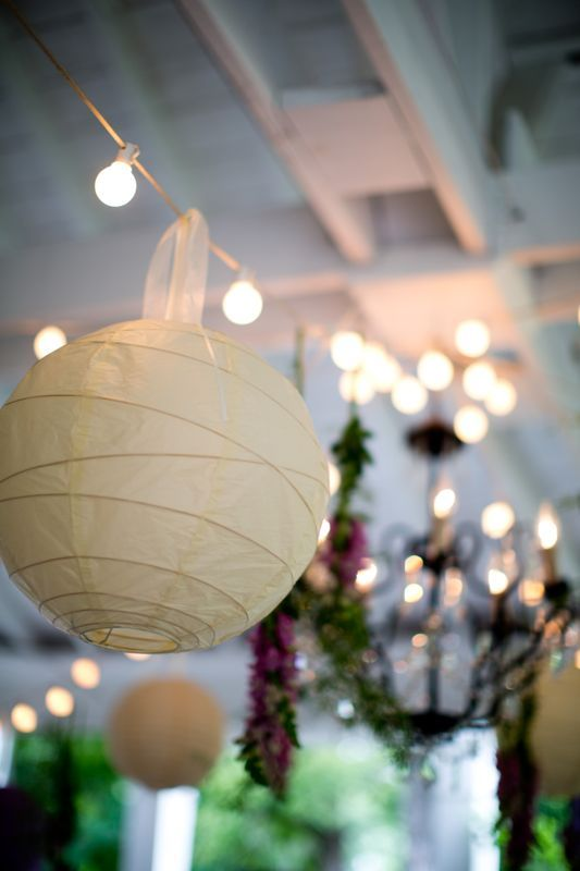 White lanterns, available for hire from Treenridge weddings, Pemberton, from October 2014.