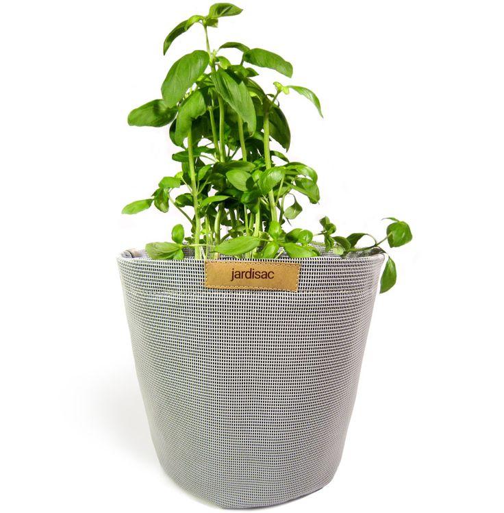Planters pots grey indoor and outdoor