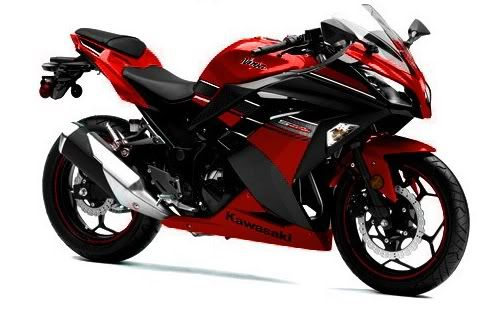 2013 Kawasaki Ninja 300 *it's just a 300 but I'd take it in a heartbeat. not gonna lie. need to get my motorcycle license tho*