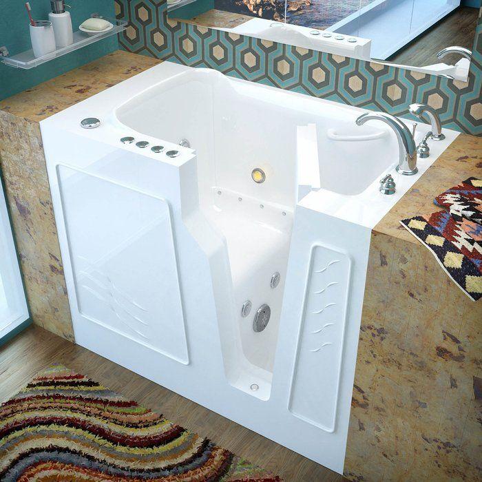 Prairie 45 7 X 26 Whirlpool Air Jetted Bathtub Jetted Bath