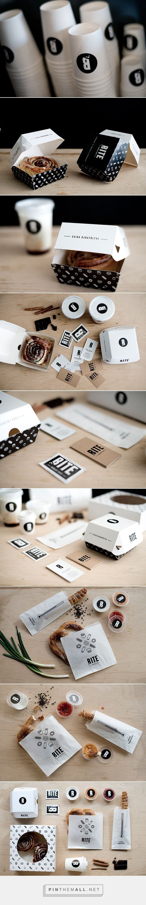 BITE on Behance curated by Packaging Diva PD. Bite interior design, branding and packaging design for a b