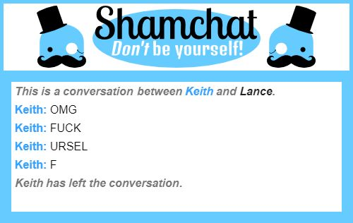 A conversation between Lance and Keith pt4