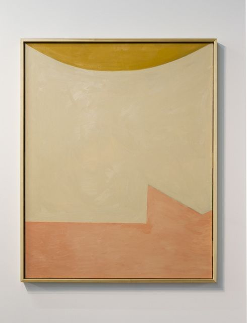 Mattea Perrotta / nude woman under the sun, oil on canvas, 60 x 40 in
