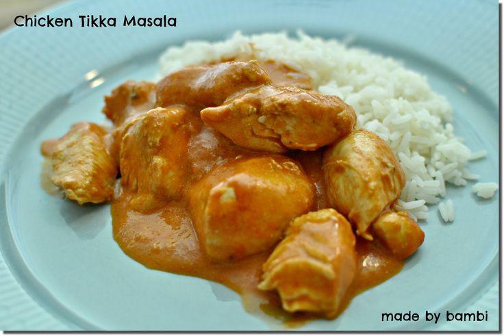 Chicken Tikka Masala, så jag tänkte att man kanske skulle prova att göra den hemma? Jag hittade ett recept på en amerikansk matblogg som jag sedan gjorde om lite och det […]