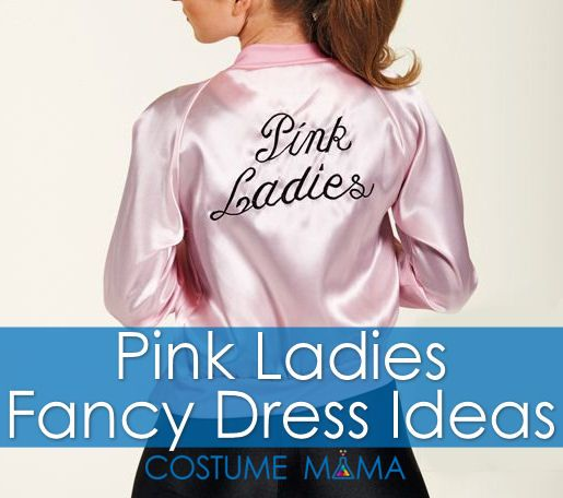 Need some Pink Ladies fancy dress costume ideas? Check out our in depth costume research for high school rebels Rizzo, Frenchy, Marty and Jan.