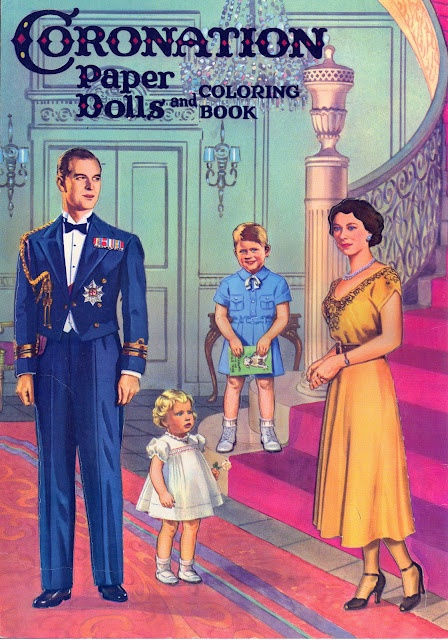 Coronation Paper Dolls.  Well, duh.