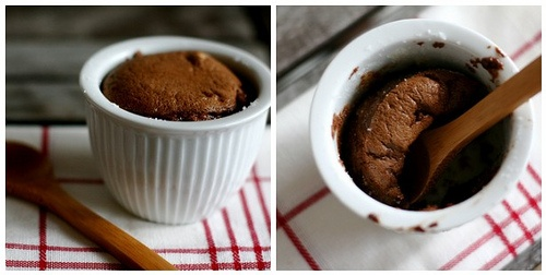 Dark Chocolate Soufflés | grEAT :-) | Pinterest