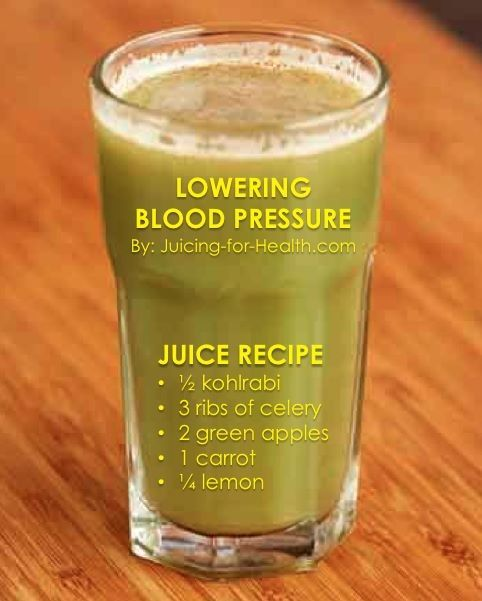 Drinks To Reduce High Blood Pressure