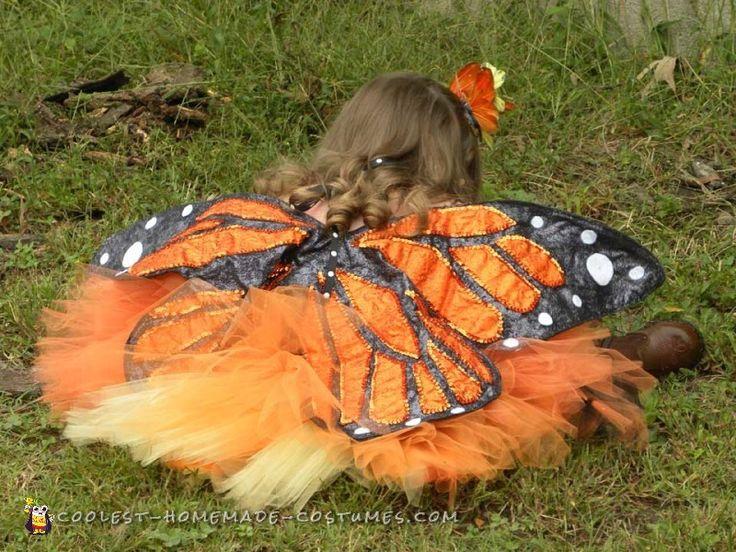 Cute Handmade Toddler Butterfly Costume